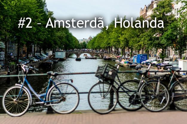 As 6 melhores cidades do mundo para pedalar com segurança!
