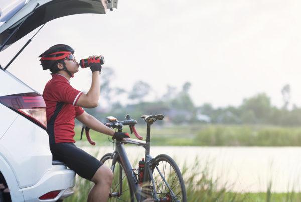 recuperação após o pedal
